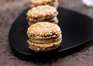 Macarons au bloc de foie gras