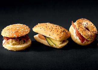 20 Mini Sandwichs Gourmets